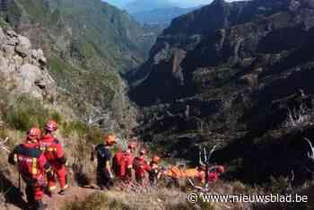"""Zeven uur nodig om gewonde Gentenaar te redden in bergen van Madeira: """"Ik maak mijn wandeling nog af"""""""