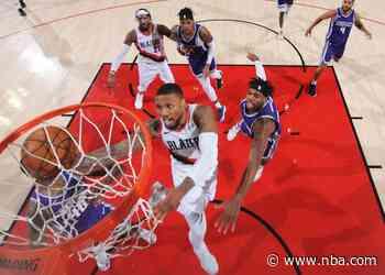 Trail Blazers Game Notes: Sacramento Kings (0-0) vs. Portland Trail Blazers (0-0)
