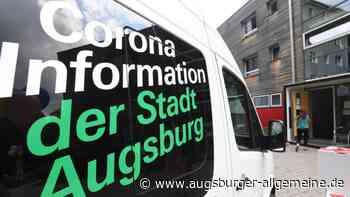 Corona in Augsburg: Sieben-Inzidenz in Augsburg steigt auf 104,5