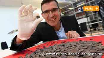Größter Silbermünzenschatz Bayerns lag im Kies der Wertach