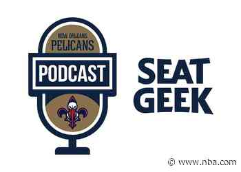 John DeShazier and Jim Eichenhofer on the New Orleans Pelicans Podcast presented by SeatGeek - October 20, 2021