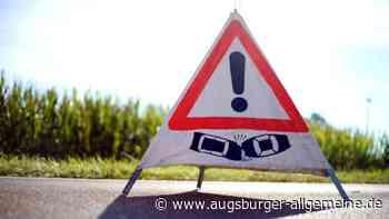 Person wird bei Unfall mit drei Autos auf der B17 bei Pfersee-Süd verletzt