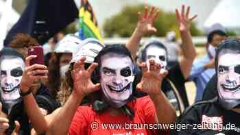 Corona-Politik von Bolsonaro: Senatoren fordern Klage