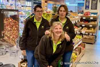 Vanessa, Sieglinde en Rita verwelkomen Spar-klanten voortaan in Carrefour Express