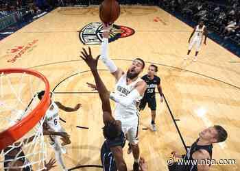 Pelicans shootaround update: Jonas Valanciunas happy to secure New Orleans future