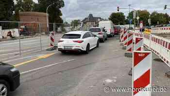 Ring-Baustelle in Neubrandenburg wird entschärft - Nordkurier