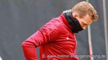 """Aufregung vor Benfica-Partie um Nagelsmann! FCB-Coach klagt über """"Unwohlsein"""" und sitzt nicht auf der Bank"""