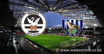 Swansea City v West Brom Live: Score updates as team news is confirmed