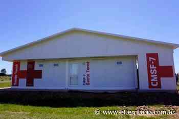 Autoridades visitaron el Centro Modular Sanitario de Frontera en Santo Tomé | EL TERRITORIO noticias de Misiones. - EL TERRITORIO