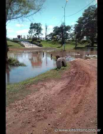 Creció abruptamente el río Uruguay en Santo Tomé | EL TERRITORIO noticias de Misiones. - EL TERRITORIO