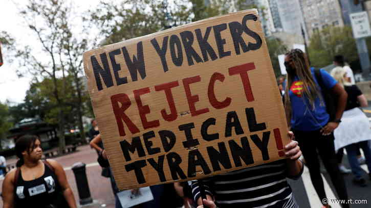Better late than never? NYC mayor announces last-minute vaccine mandate for ALL city workers