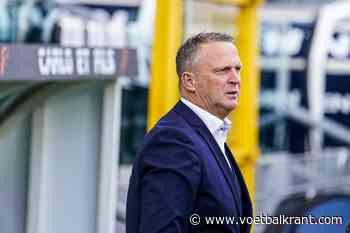 """John van den Brom twijfelt niet na drie nederlagen op rij: """"Kan mijn spelers niets verwijten"""""""