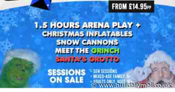 Christmas Wacky World coming to Hull with snow machines, total wipeout, and Santa's grotto