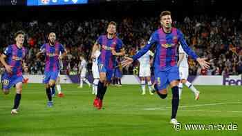 Wolfsburg ohne Plan und Punkte: Barça siegt und wird trotzdem ausgepfiffen - n-tv NACHRICHTEN