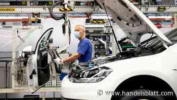 Autobauer: VW-Werk in Wolfsburg droht schwächste Produktion seit Jahrzehnten - Handelsblatt