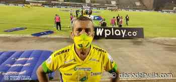 Albeiro Moreno Dimaté, por siempre hincha del Atlético Huila - Diario del Huila