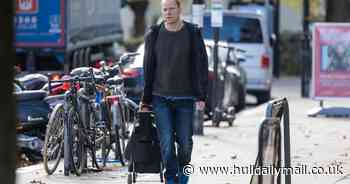 Strictly Come Dancing's Robert Webb spotted in public for the first time since exit