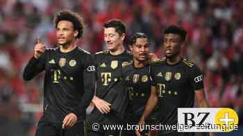 Sanés Doppelpack ebnet Bayern den Weg zum 4:0 bei Benfica