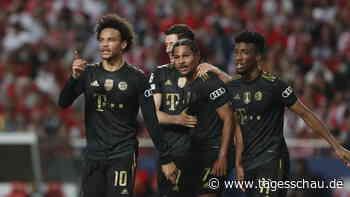 Champions League: Bayern schlagen Benfica Lissabon mit 4:0
