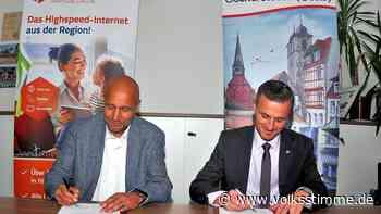 Weitere Haushalte kommen in Oschersleben ans schnelle Internet - Volksstimme