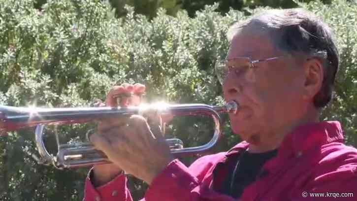 NM veteran honoring those who served by playing 'Taps' every day at cemetery