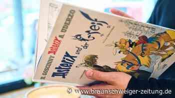 Keilerei in der Taiga: Asterix und Obelix schützen den Greif