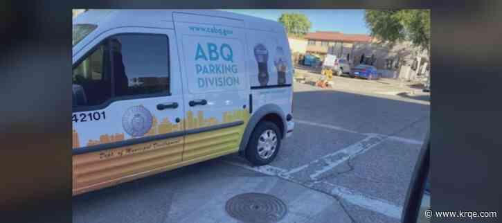 Parking enforcement officer busted for parking in crosswalk