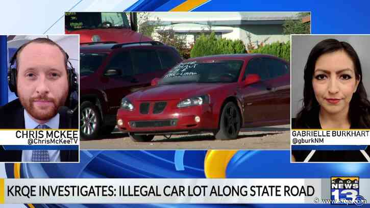 Behind the story: State property used as pop-up car lot