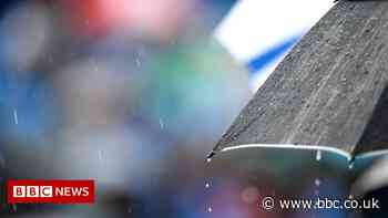 Weather warning issued for southern England