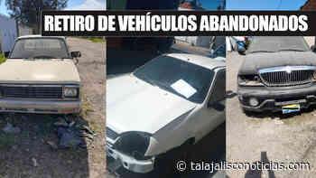 Comienza el retiro de vehículos en abandono en el municipio de Tala. « REDTNJalisco - Tala Jalisco Noticias