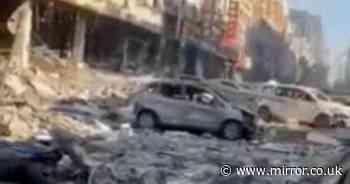 China gas explosion: Rescue operation underway as blast destroys entire block