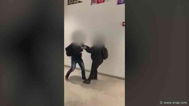 Video shows middle school student beating another as no one appears to intervene