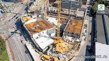 Großbauprojekt: Jetzt kommen die Fenster fürs Bergedorfer Tor