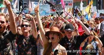 Thousands expected to attend 'massive' climate protest in Bristol
