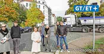 """""""Rennstrecke"""": Anwohner fordern Sperrung der Hanomagstraße in Linden"""