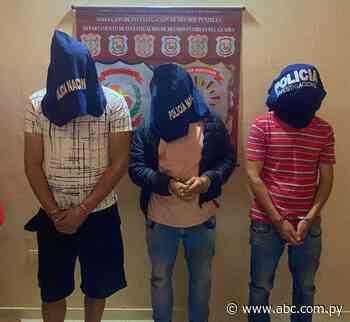 Arrestan a tres presuntos ladrones en Villarrica y Yataity - ABC Color