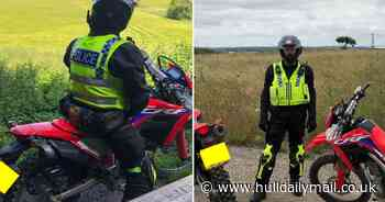 New police squad promise to clamp down on illegal and stolen nuisance motorbikes