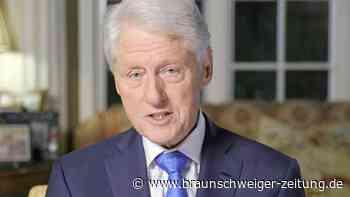 Bill Clinton nach Krankenhausaufenthalt wieder zuhause