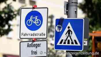 Dürfen Autos oder Motorräder in der Fahrradstraße fahren?