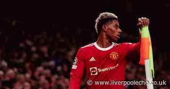 Manchester United release Marcus Rashford injury update before Liverpool