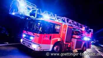Großbrand in Dresdner Gasstation: Feuerwehr warnt vor Explosionen