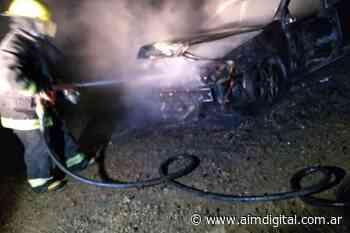 Bomberos de Villa del Rosario intervinieron tras el incendio de un automóvil - AIM Digital