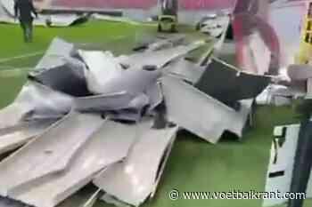 🎥 Straf! Een deel van het dak van de Bosuil is ingestort door de storm