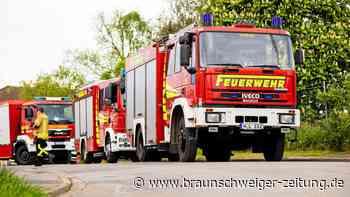Feuerwehr Helmstedt rückt wegen Sturmschäden aus