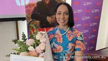 WA's Cara Peek wins Rural Women's Award
