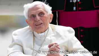Gänswein dementiert Todessehnsucht von Papst Benedikt
