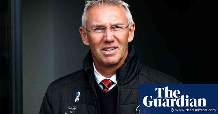 Charlton sack Nigel Adkins with club mired in League One relegation zone