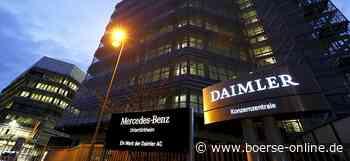 Daimler-Aktie vor Zahlen: Weshalb die Papiere langfristig ein Kauf sind