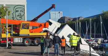 Lorry in Bristol harbour: HGV plunges into water - updates