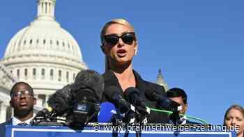 Paris Hilton berichtet von Missbrauch in staatlichen Einrichtungen